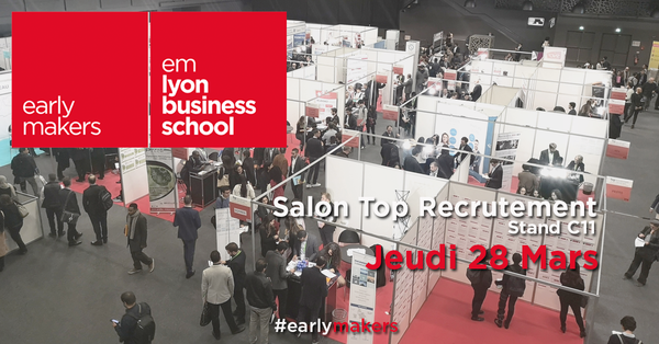 emlyon business school vous invite au salon top recrutement formations par emlyon executive. Black Bedroom Furniture Sets. Home Design Ideas